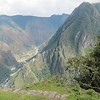 Looking down to the Urubamba.