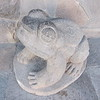 A stone frog we came across in Cusco.