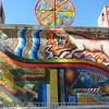 A mural in Cusco.