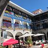 The courtyard for Hotel Mercado, Cusco.