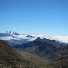 The view at Abra Lares - a pass on the way to Huacahuasi.