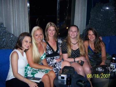 Me, Julie, Rece, Sarah, & Emily