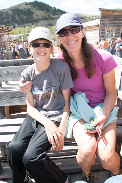 Bannack State Park for Frontier Days