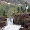 Waterfall below Lake Helen
