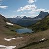 Ptarmigan Lake from the pass