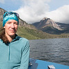 Riding The Sinopah across Two Medicine Lake