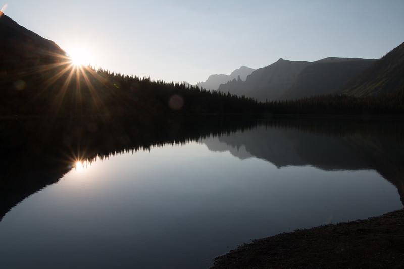 Sunset at Lake Francis