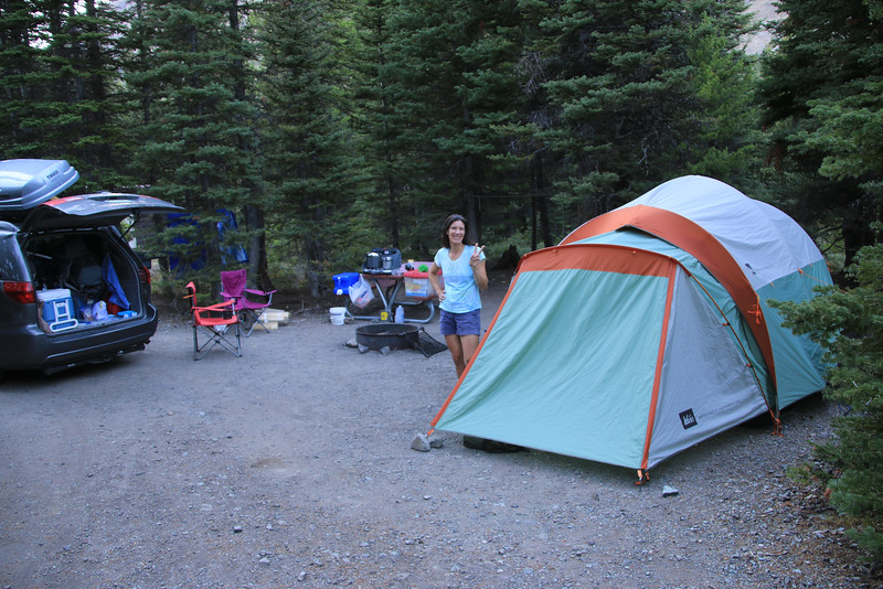 Campsite in Two Medicine
