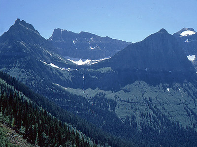 1967Aug: Glacier National Park, Montana