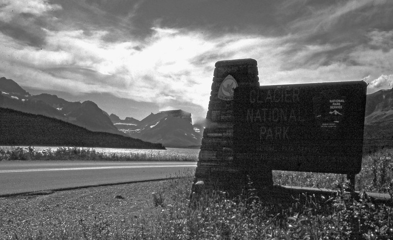 Glacier National Park. A wonderful place for photography, hiking, camping, and mountain climbing. Traveling from west to east along the Going to the Sun road.