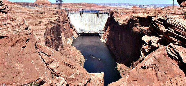 1970 - 1980: Glenn Canyon Dam, Arizona