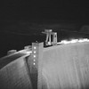 Experimental night shot of the Glenn Canyon Dam