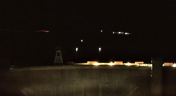 Night at Glenn Canyon Dam