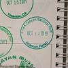 Passport book cancellation for Phantom Ranch