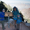 On the South Rim!