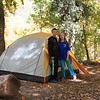 Next campsite in Oak Creek Canyon
