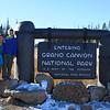 At the North Rim entrance