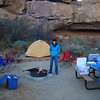 Our campsite at Chaco