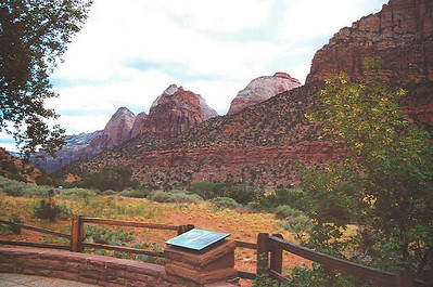 Next day it was off the Zion National Park