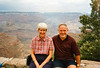 Charlotte & Fred catch their first glimpse of the Canyon