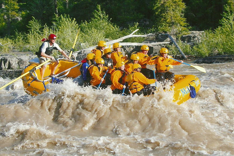 This was taken at Lunch Counter rapids; a Level 4 rapid! WOW!! What a rush this was!