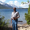 Guy photo of Ron at Jenny Lake