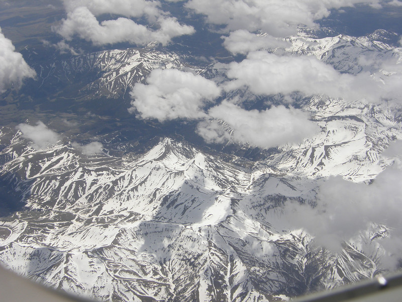 Flight into Jackson Hole