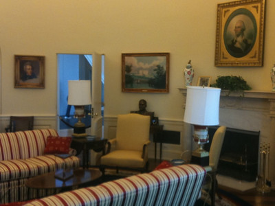 015 Model of the Clinton Oval Office