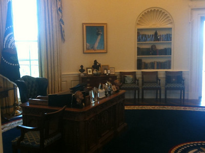 014 Model of the Clinton Oval Office