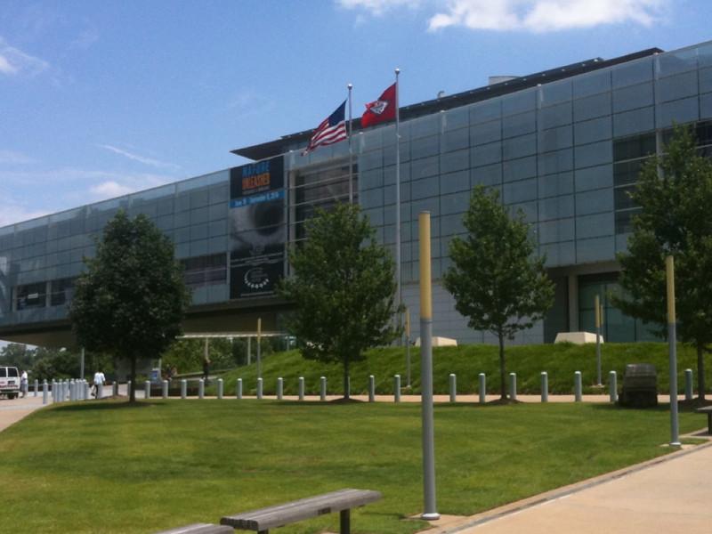 012 Bill Clinton Presidential Library Center in Little Rock