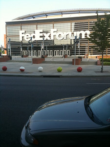039 Fedex Forum home of the Memphis Grizzlies