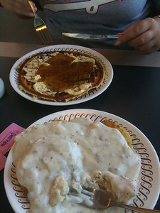 007 Forget donuts.....Waffle House!!!