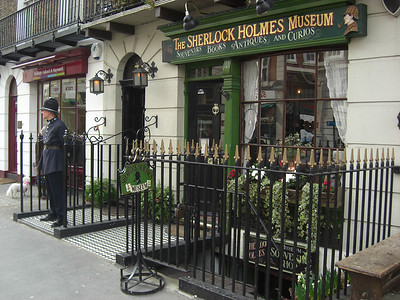 Sherlock Holmes Museum, Thursday, march 18, 2010