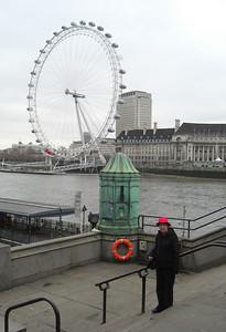 London Eye, Friday, morning, march 19, 2010
