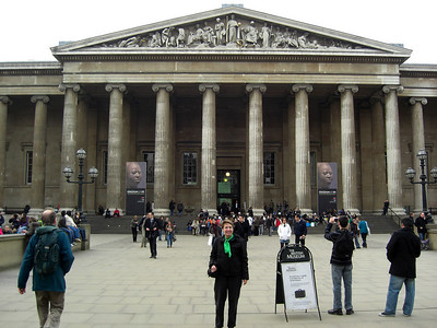 The British Museum, Thursday, march 18, 2010