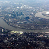 London fron the air, on our arrival
