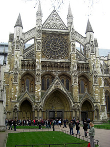 Westminster Abbey, Friday, afternoon, march 19, 2010