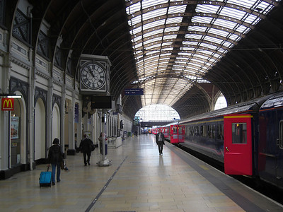 Paddington Station, Thursday, march 18, 2010