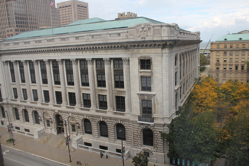 October 14, 2011 (Cleveland Public Library [across the street from our room] / Cleveland, Cuyahoga County, Ohio)