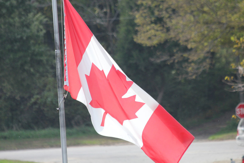 October 8-11, 2011 (Essex & Chatham-Kent Counties, Ontario, Canada) - Flag of Canada