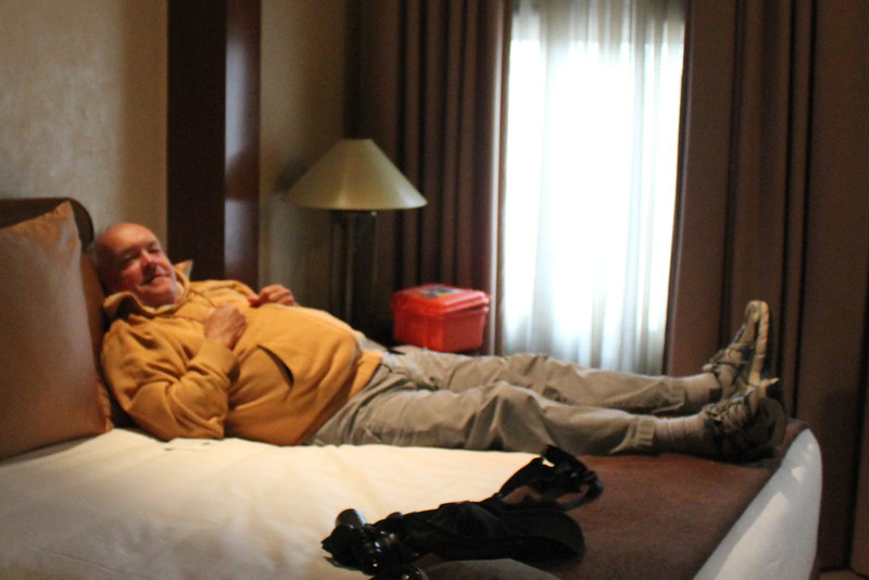 October 12, 2011 (Hyatt Regency Cleveland at The Arcade [suite for Mary Anne's conference] / Cleveland, Cuyahoga County, Ohio) - David