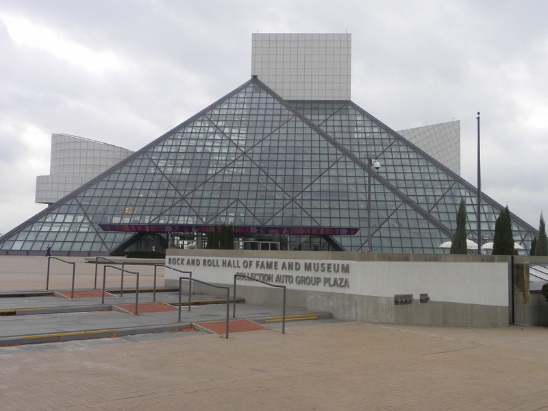 October 14, 2011 (Rock & Roll Hall of Fame [viewed from front] / Cleveland, Cuyahoga County, Ohio) -- Rock & Roll Hall of Fame