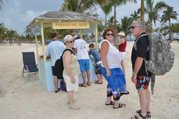 Great Stirrup Cay Bahamas Parasailing