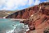 Red beach by Akrotiri