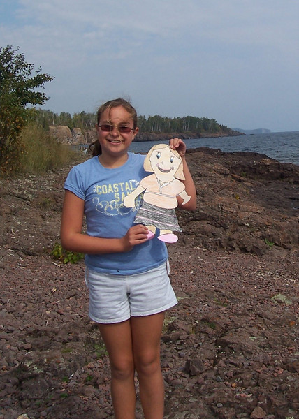 Flat AImee on the Shores of Lake Superior