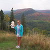 Flat Aimee at the Top of Lutsen Mountain, Lutsen MN