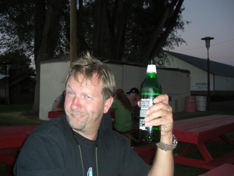 saturday night, dave's birthday beer