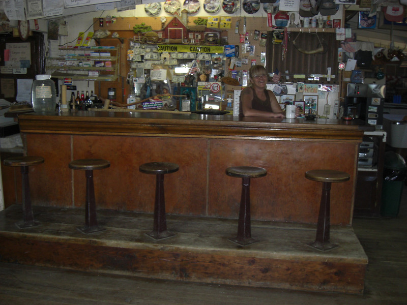 the sunday ride, the only bar in the lava beds
