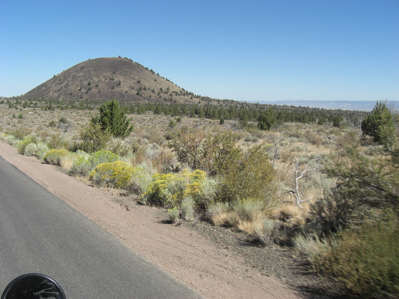 lava dome in lava beds national monument (california)