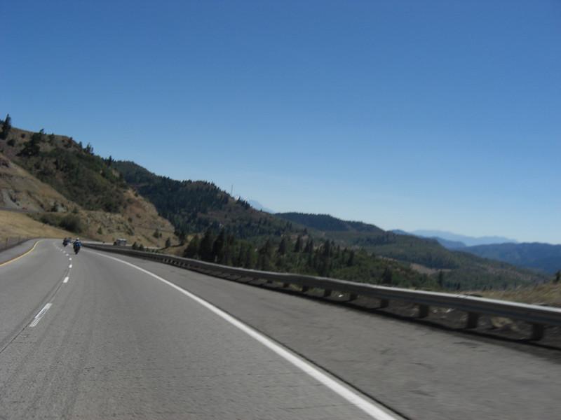 back into california on i-5